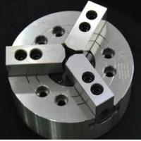 Best KM 3-Jaw Large Through-Hole Power Chuck Can clamp on bar work supplied from the rear side of the main spindle wholesale
