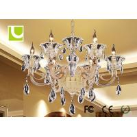 Best Super Bright Pendant LED Crystal Ceiling Lamp For Conservatory / Club wholesale