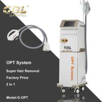 Best Multifunctional SHR Hair Removal Machine Logo Accept With Vertical Body Type wholesale
