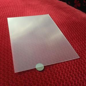 Best Wholesale Thin Clear PET 100  lpi 3D Lenticular Foil Lens Sheets plastic 3d film matericls for 3d lenticular painting wholesale