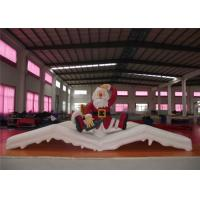 China Christmas Blow Up Yard Decorations , Waterproof Blow Up Christmas Lawn Decorations on sale