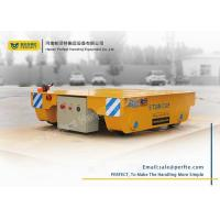 Best Industrial use remote control motorized 5t battery powered rail transfer cart wholesale