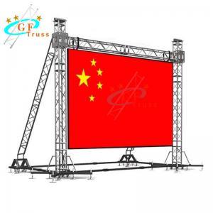 Best 500*600mm Goal Post Truss For Hanging Advertising LED Screen Lights wholesale