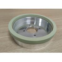 Best Hole 31.5mm Vitrified Bond Diamond Grinding Wheels For Grinding Tungsten Carbide wholesale