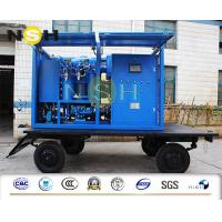 Best Mobile Type Transformer Oil Purifier High Vacuum Dehydration Insulating Oil Purifier 9000LPH wholesale