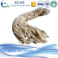 China Top Quality Halal Hog Casings Natural Sausage Casings on sale