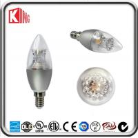Best 360 Degree Dimmable Led Filament Candle Bulb 5W E14 Decorative for Chandelier wholesale