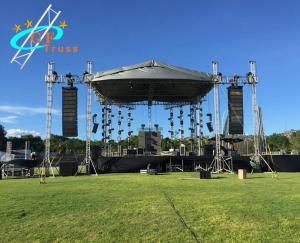 Best Concert Stage Spigot 6082 Aluminum Roof Truss System wholesale