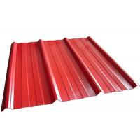 Best Coloured Corrugated Roofing Sheets , Powder Coated Corrugated Metal Roofing Sheets wholesale