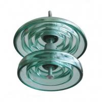 China Antipollution Type Glass Power Line Insulators Electrical Toughened Glass Insulator on sale