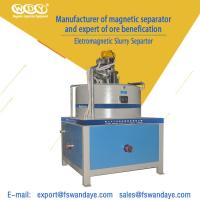 Best Automatic Electro - Magnetic Separator Machine Field Strength 3T High Speed Kaolin Ceramic Slurry wholesale