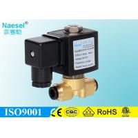 China Brass / Stainless Steel Mini Solenoid Valve For Flexible Hose Normal Closed on sale