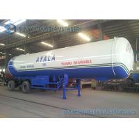 China Safety Tri Axle 21T LPG Tank Trailer 50000L High Performance on sale