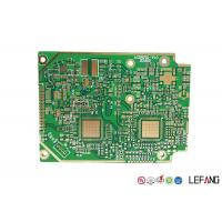 Best Solder Heavy Copper PCB , 4 Layers Copper Printed Circuit Board Green Solder Mask wholesale