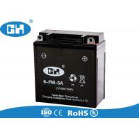 China High Capacity 12v Motorcycle Battery , Bmw Motorcycle Battery ABS Plastic Container on sale
