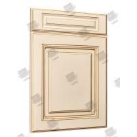 Best Multi Color Solid Core Molded Doors , Melamine Engineered Wood Doors wholesale
