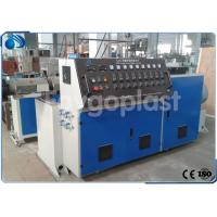 Single Screw Plastic Extruder Machine Extrusion Line For PE Pipe / PET Sheet