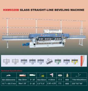 China HXM9320B Glass Straight-Line Beveling Machine on sale