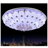 Best White flower shade crystal ceiling lamp crystal moscia ceiling lighting wholesale