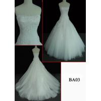 China LACE CHEAP WEDDING  GOWN BA03 on sale
