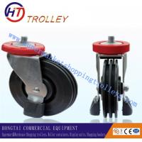 Best 125 mm Shopping Trolley Spare Parts Of  5 Three Sides Wheel Castor For Machine wholesale
