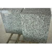 China Solid Surface Granite Stone Floor Tiles , Gray Natural Granite Stone Slabs on sale