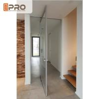 Best Internal Aluminum Pivot Sliding Door With Double Glazed Glass Wind Load Resistance wholesale