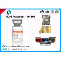 Best Fat Burning and Bodybuilding Growth Hormone HGH Fragment 176-191 CAS 158861-67-7 With 5mg/Vial 10mg/vials wholesale