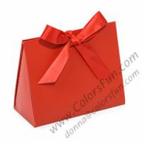 China Paper Gift Boxes Purse Tote on sale