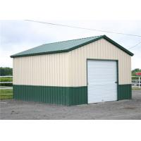 Best Clear Span Steel Barn Structures With High Security Slop Straight Roof wholesale