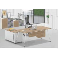 China Bowl shape structure office desk  table furniture 1200x600mm on sale
