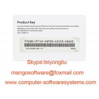 Best FPP Microsoft Office Key Code 2016 Home And Business COA License Sticker wholesale