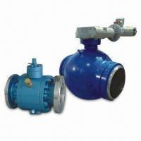 China Trunnion Ball Valve with Floating Seats on sale