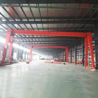 China Supply Limit Switch Single Girder Gantry Crane , 5 Ton Rail Mounted Gantry Crane on sale