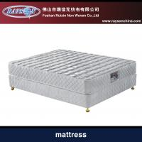 Best Comfortable 3 Zone Pocket Spring Mattress , Compressed Foam Mattress Knitted Fabric wholesale