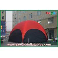 China 3 M Red Hexagon Large Outdoor Inflatable Tent PVC For Vocation on sale