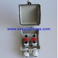 Best Plastic VX-SB Network Distribution Box with 3Pole Arrester Protection STB Module for Telecom Outside Plant wholesale
