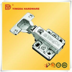 China Large size Kitchen cabinet Hydraulic hinge Soft close door hinge with plastic gasket on sale