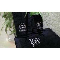 China Black Customized Towel Custom Towel Black Towel Factory Black Towel Manufacturer on sale