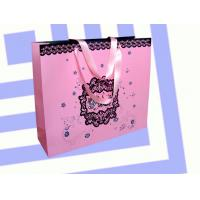 Best Cosmetic white paper bag 2012 wholesale