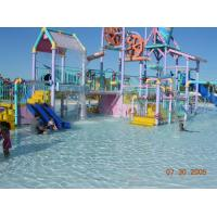 China Outdoor Commercial Safety Fiberglass Kids' Water Playground Equipment For Aqua Park on sale
