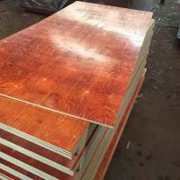 Best Waterproof Melamine Glue Red laminated Film faced plywood 2 time hot press wholesale