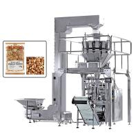 China Vertical Multi Heads Weigher Packing Machine For Nuts Dry Fruits Roast Peanuts on sale