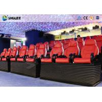 Best Entertainment Park 12D Cinema XD Theatre With 3 DOF Electric Chairs 180KG wholesale
