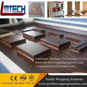 Best PVC oak internal doors vacuum membrane press machine wholesale