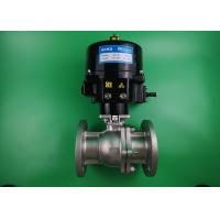 Best Water Powered Two Way Ball Valve Stainless Steel 316L Automatic ON OFF wholesale