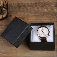 Cheap Recyclable wholesale Men Guest Watches customized logo cardboard paper gift box for sale
