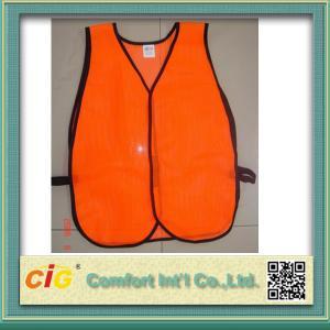 China High Visibility Reflective Protective Clothing Reflective Safety Jackets , Custom Safety Vests on sale