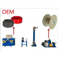 China Winding Wire Bobbin Cable Take Up Machine 1 - 20mm Wire Range 500 Kg Weight on sale