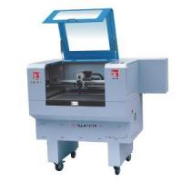 China Computerized Woven Labels Video Camera Laser Cuttting Machine on sale